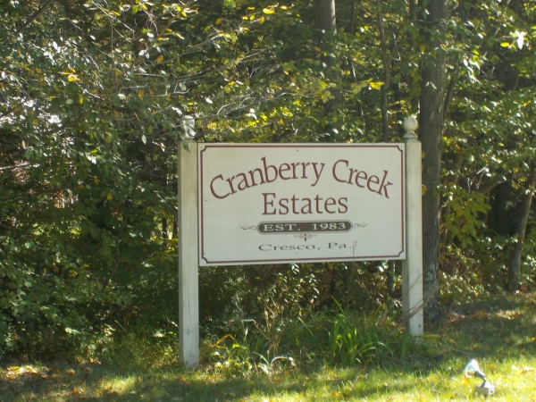 9 Building Lots for Auction: Cranberry Creek Estates