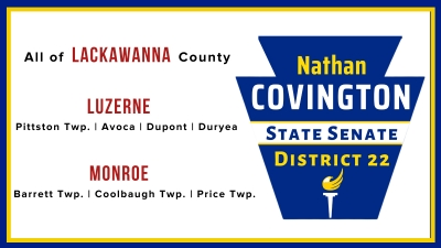 Special Election: NATHAN COVINGTON for PA District 22 (Senate)