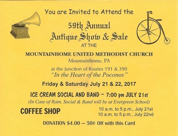 Annual Antique Show & Sale (2017)