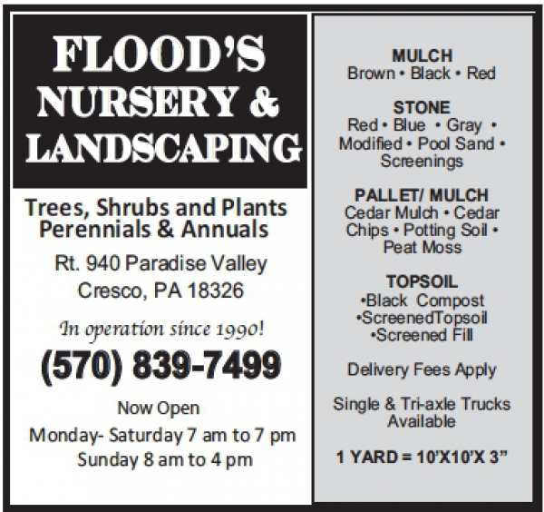 Flood's Nursery & Landscaping