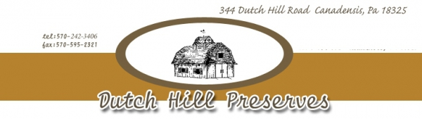 Dutch Hill Preserves, Co.