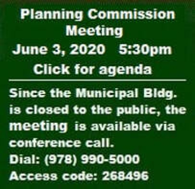 Barrett Township Planning Commission Meeting (Zoning Ordinance Amendments) June 3, 2020