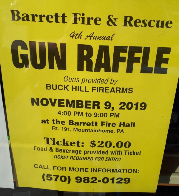 Gun Raffle (4th Annual)