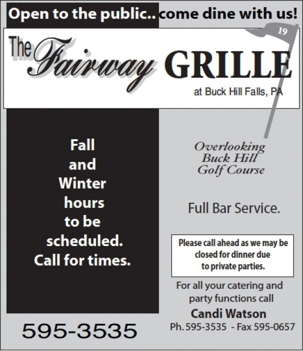 Fairway Grille Restaurant