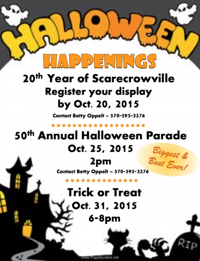 Barrett Township Halloween Parade 2015