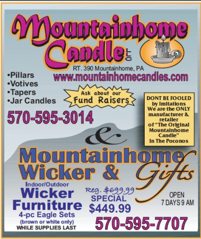 Mountainhome Candles