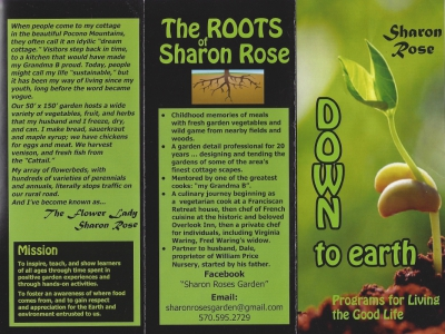 Sharon Rose - Down to Earth: Programs for Living the Good Life