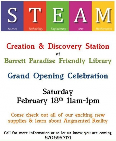 S.T.E.A.M. Creation & Discovery Center