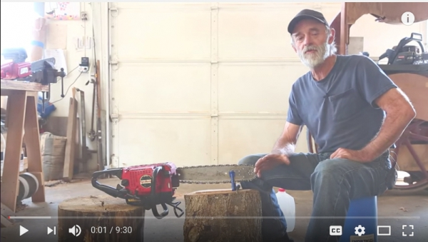How To: Sharpen a Chainsaw by hand using a file